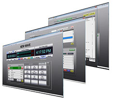 The New Wave radio automation software is the perfect automation software for internet streaming and small radio stations.